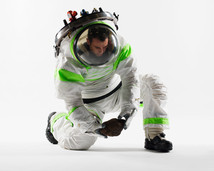Nasas new space suits have builtin toilets  Daily Mail